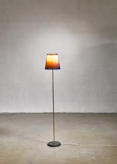 Yki Nummi Yki Nummi floor lamp with two layered shade for Orno Finland 1960s - 1085334