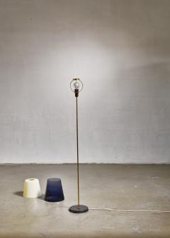 Yki Nummi Yki Nummi floor lamp with two layered shade for Orno Finland 1960s - 1085335
