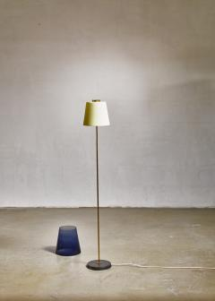 Yki Nummi Yki Nummi floor lamp with two layered shade for Orno Finland 1960s - 1085336