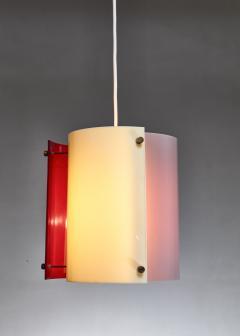 Yki Nummi Yki Nummi plexiglass pendant lamp for Orno Finland 1960s - 1138537