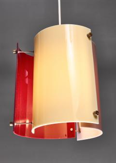 Yki Nummi Yki Nummi plexiglass pendant lamp for Orno Finland 1960s - 1138538