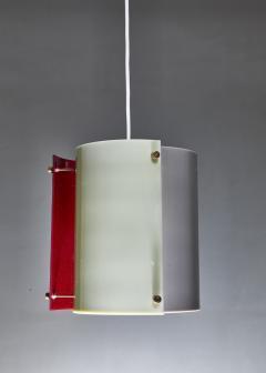 Yki Nummi Yki Nummi plexiglass pendant lamp for Orno Finland 1960s - 1138542
