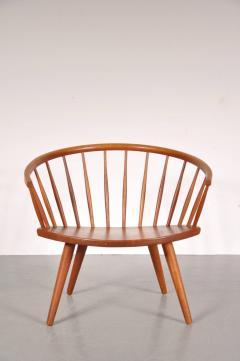 Yngve Ekstr m 1950s Oak Easy Chair by Yngve Ekstro m Model Arka  - 824192