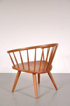 Yngve Ekstr m 1950s Oak Easy Chair by Yngve Ekstro m Model Arka  - 824193