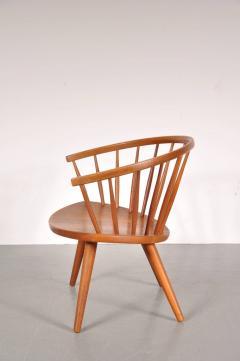 Yngve Ekstr m 1950s Oak Easy Chair by Yngve Ekstro m Model Arka  - 824194