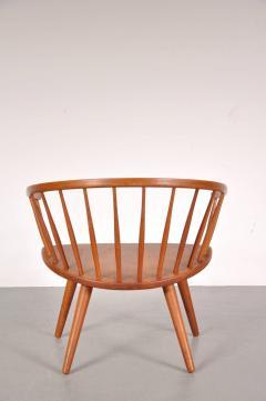 Yngve Ekstr m 1950s Oak Easy Chair by Yngve Ekstro m Model Arka  - 824195