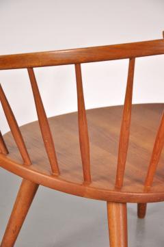 Yngve Ekstr m 1950s Oak Easy Chair by Yngve Ekstro m Model Arka  - 824196