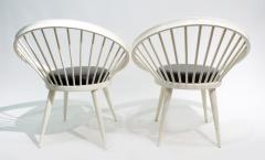 Yngve Ekstr m Pair of Round Chair by Yngve Ekstrom 1960 - 1882302
