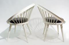 Yngve Ekstr m Pair of Round Chair by Yngve Ekstrom 1960 - 1882305
