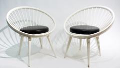 Yngve Ekstr m Pair of Round Chair by Yngve Ekstrom 1960 - 1882307