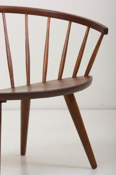 Yngve Ekstr m Wooden Easy Chair Arka by Yngve Ekstr m Sweden 1950s - 1134891