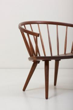 Yngve Ekstr m Wooden Easy Chair Arka by Yngve Ekstr m Sweden 1950s - 1134893