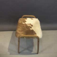 Yngve Ekstr m Yngve Ekstr m Cowhide Lamino Lounge Chair Ottaman Swedese - 1745643