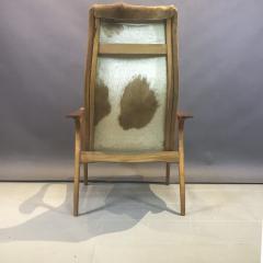 Yngve Ekstr m Yngve Ekstr m Cowhide Lamino Lounge Chair Ottaman Swedese - 1745644