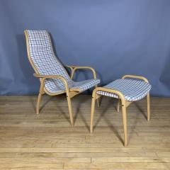 Yngve Ekstr m Yngve Ekstr m Lamino Lounge Chair Ottoman Swedese Designed 1954 - 1525070