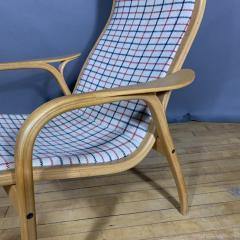 Yngve Ekstr m Yngve Ekstr m Lamino Lounge Chair Ottoman Swedese Designed 1954 - 1525075