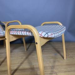 Yngve Ekstr m Yngve Ekstr m Lamino Lounge Chair Ottoman Swedese Designed 1954 - 1525078