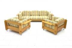 Yngve Ekstrom Rare Three Seat Sofa by Yngve Ekstr m Sweden 1960s - 628633