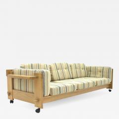 Yngve Ekstrom Rare Three Seat Sofa by Yngve Ekstr m Sweden 1960s - 629736