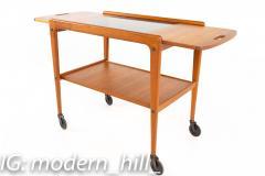 Yngve Ekstrom for Kellemo Danish Teak Drop Side Expanding Bar Cart - 1869341