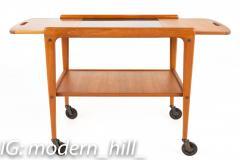 Yngve Ekstrom for Kellemo Danish Teak Drop Side Expanding Bar Cart - 1869342