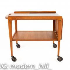 Yngve Ekstrom for Kellemo Danish Teak Drop Side Expanding Bar Cart - 1869343