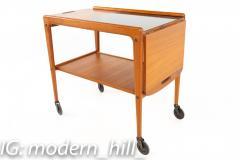 Yngve Ekstrom for Kellemo Danish Teak Drop Side Expanding Bar Cart - 1869344
