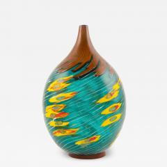Yoichi Ohira Il Vento con Fiori Giallo Vase - 2138887
