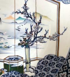 Yoshisuke Takeshige A Massive Japanese Arita Presentation Porcelain Plate Meiji Period - 955522