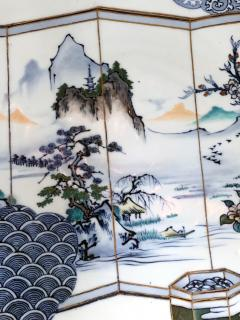 Yoshisuke Takeshige A Massive Japanese Arita Presentation Porcelain Plate Meiji Period - 955531