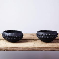 Young Mi Kim Small Black glazed bowls by Young Mi Kim - 1255721