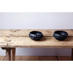 Young Mi Kim Small Black glazed bowls by Young Mi Kim - 1255722