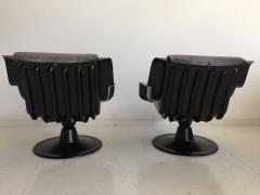 Yrjo Kukkapuro Pair of Yrjo Kukkapuro Swivel Lounge Chairs Model 3814 1KF - 1220320