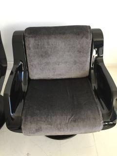 Yrjo Kukkapuro Pair of Yrjo Kukkapuro Swivel Lounge Chairs Model 3814 1KF - 1220327