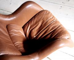 Yrjo Kukkapuro Swivel Tilt Lounge Chair by Yrj Kukkapuro for Haimi Finland 1960s - 2127734