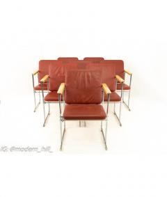 Yrjo Kukkapuro Yjro Kukkapuro Mid Century Dining Chairs Set of 8 - 1821521