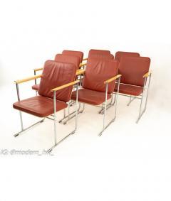 Yrjo Kukkapuro Yjro Kukkapuro Mid Century Dining Chairs Set of 8 - 1821522