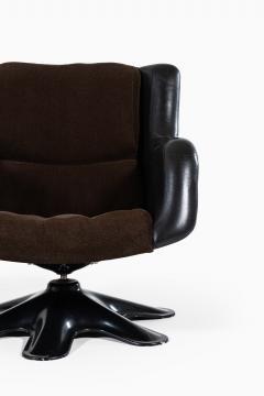 Yrjo Kukkapuro Yrj Kukkapuro Easy Chairs Model 418 Produced by Haimi in Finland - 1794365