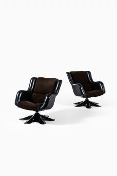 Yrjo Kukkapuro Yrj Kukkapuro Easy Chairs Model 418 Produced by Haimi in Finland - 1794370