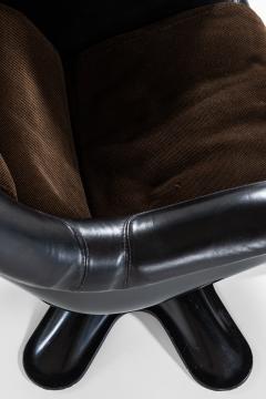 Yrjo Kukkapuro Yrj Kukkapuro Easy Chairs Model 418 Produced by Haimi in Finland - 1794371