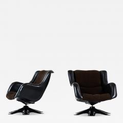 Yrjo Kukkapuro Yrj Kukkapuro Easy Chairs Model 418 Produced by Haimi in Finland - 1797987
