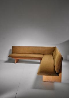 Yrjo Kukkapuro Yrjo Kukkapuro corner sofa Finland 1950s - 834116