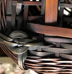 Yufu Shohaku Japanese Bamboo Basket Ikebana by Yufu Shohaku - 1103870