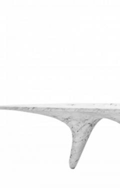 Zaha Hadid Luna Bianco Dining Table - 2057681