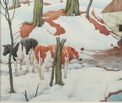 Zama Vanessa Helder Red Earth and Spotted Cows - 317279