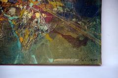 Zdzislaw Salaburski Exceptional Abstract Painting by Zdzislaw Salaburski - 923983