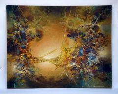 Zdzislaw Salaburski Exceptional Abstract Painting by Zdzislaw Salaburski - 923985