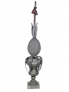 Zinc Pineapple Lamps - 1704624