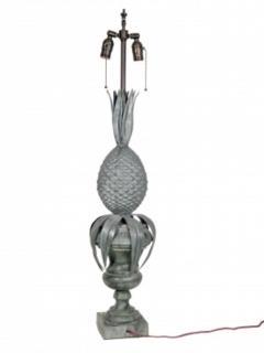 Zinc Pineapple Lamps - 1704625