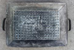 Zinc Strainer European circa 1880 - 407516